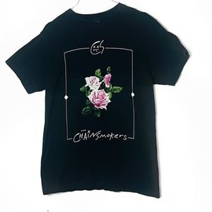 EUC The Chainsmokers Roses Merch Tee M